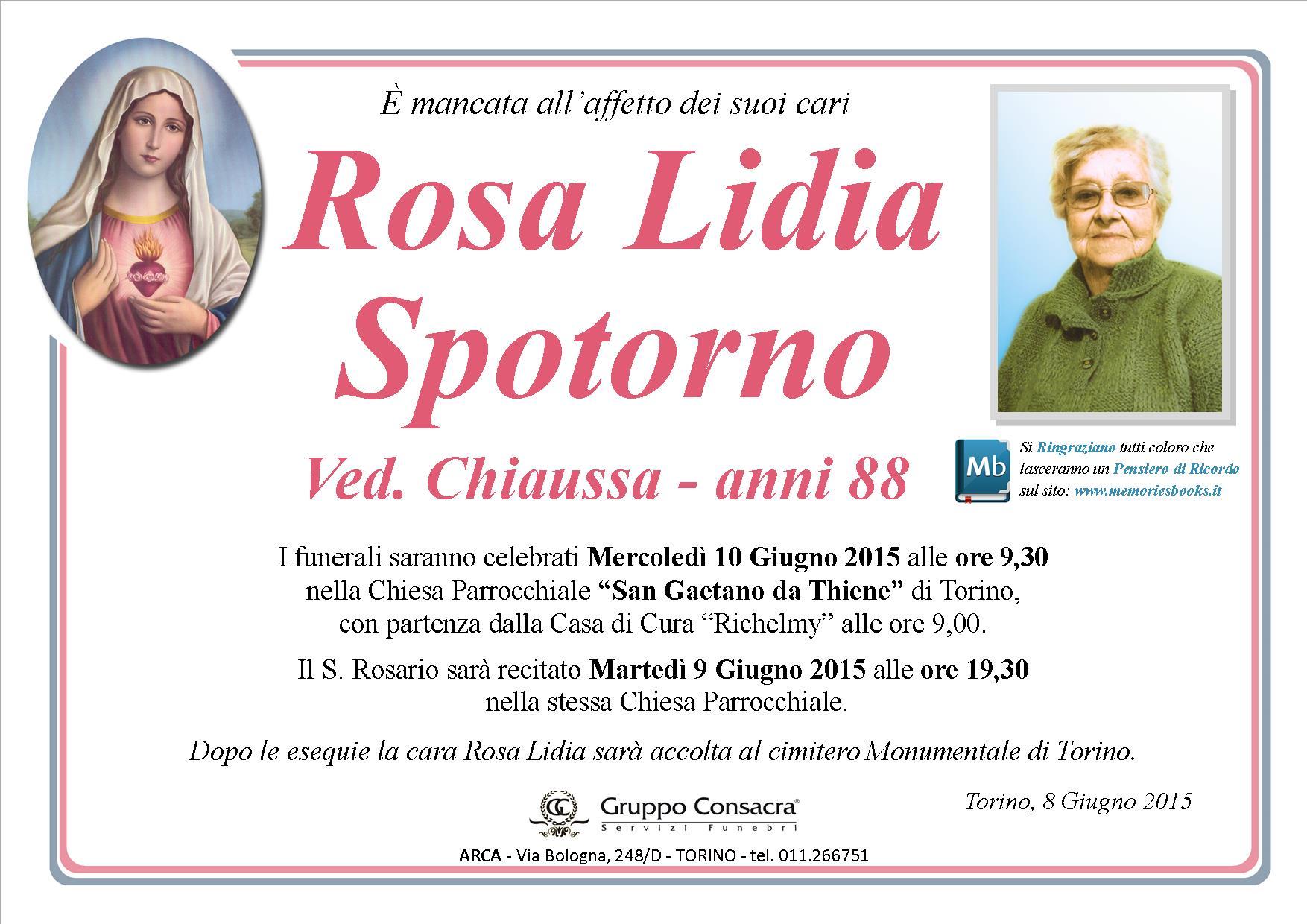 Rosa lidia spotorno chiaussa for Rosa dei mobili torino
