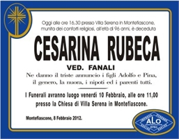 Cesarina Rubeca